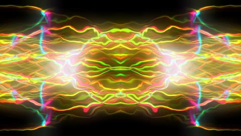 Colorful Plasma Power Rays 2 Animation