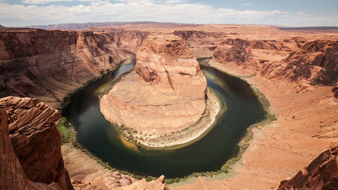 Horseshoe Bend in Arazona Footage