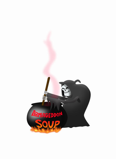 Death stirring soup Animation