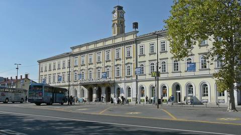 Ljubljana railway station Live Action