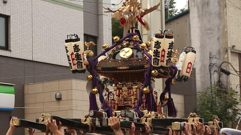 Summer tradition of Japan/日本のお祭り Footage