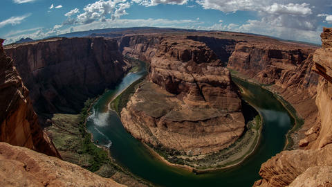 Horseshoe Bend in Arazona Time Lapse Footage