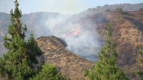 Wildfire In The Mountains Footage