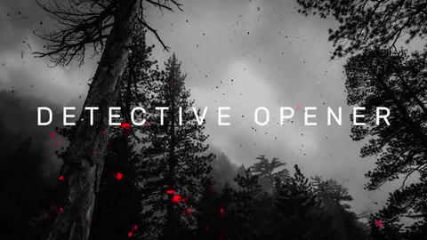 Detective Opener Premiere Pro Template