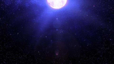 Mov196 moon night sky loop 09 CG動画