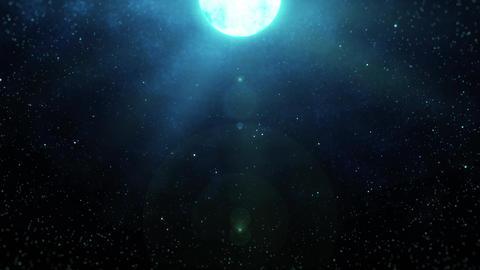 Mov196 moon night sky loop 06 CG動画
