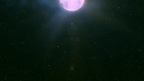 Mov196 moon night sky loop 04 CG動画