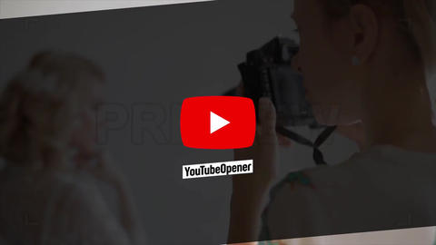 YouTube Media Modern After Effects Template