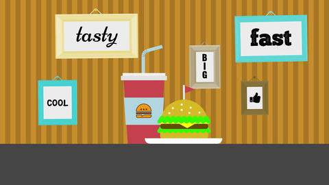 Food Logo After Effects Template