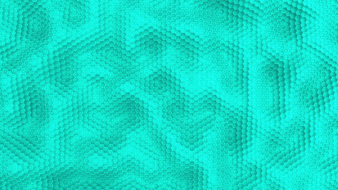 Hexagon moving surface white animation background Animation