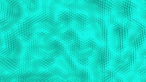 Hexagon moving surface white animation background Animation