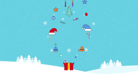 Chrismas Logo After Effects Template