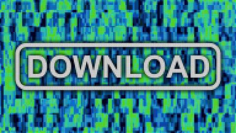 Download complete progressbar message pixel computer screen animation CG動画