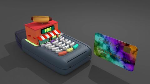 Credit Card Reader Animation GIF