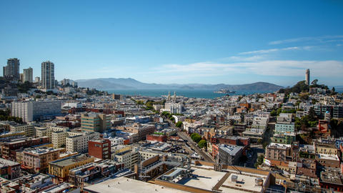 San Francisco Cityscape Time Lapse Footage