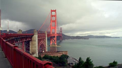 Golden Gate Bridge San Francisco Footage