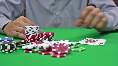 Gambler Takes Casino Jackpot Live Action