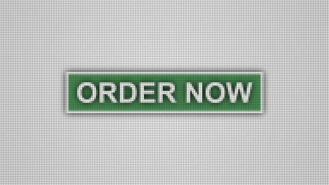 Order now button pixel computer screen animation Animation