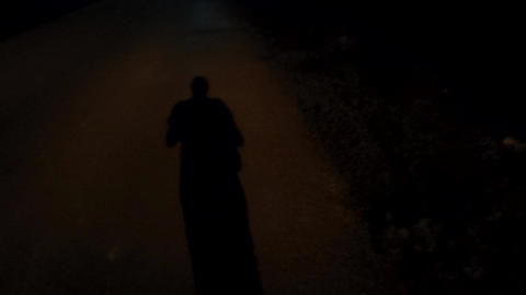 Shadow walking person Live Action