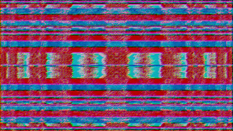 Software generated abstract animation, iridescent data collapse video fx Live Action