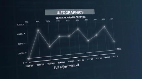 Infographics: Vertical Graph Creator V 2 After Effects Template