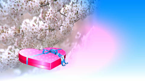 288 3d animated footage about love womens day love greeting Animation