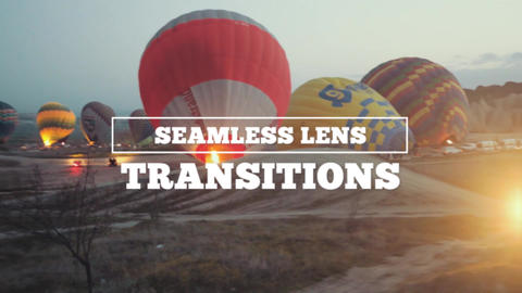 Transitions - Seamless Lens Premiere Proテンプレート
