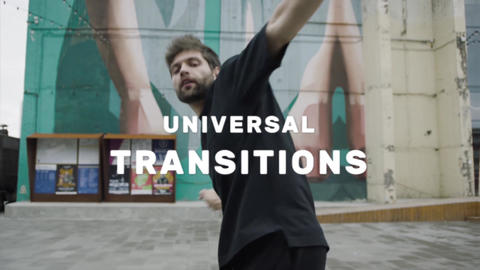 Transitions - Universal Seamless After Effectsテンプレート
