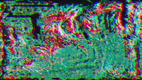 Mixed-colored data mosh, error data dynamic cyberpunk holographic background Live Action