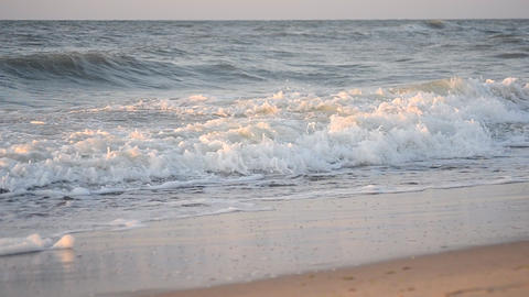 Water and waves sea landscape scenery country scene background Live Action