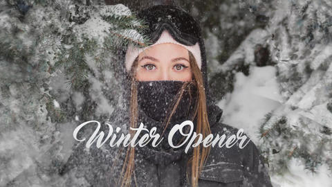 Winter Opener Premiere Pro Template