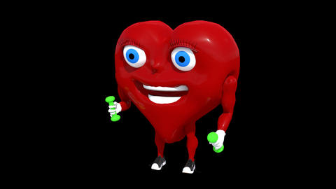 Healthy Heart Exercise Animation
