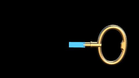 House Key Animation GIF