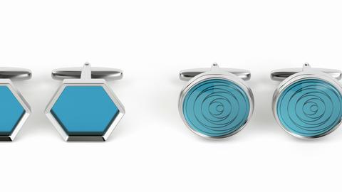 Different cufflinks Animation