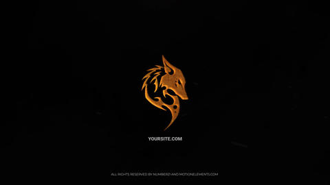 Fire Logo Cinematic After Effects Template