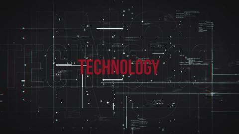 Technology Grid After Effects Template