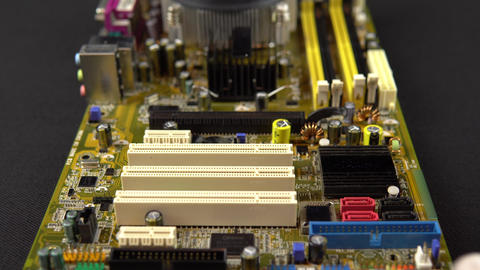 Installing a network card on the motherboard. Network data transmission system Live Action