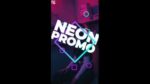 Neon Stories Promo Premiere Proテンプレート