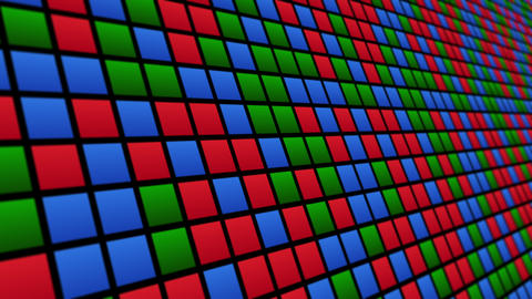 Colored rectangles pattern animated background Animation