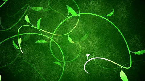 Loopable Growing Vines Background Animation