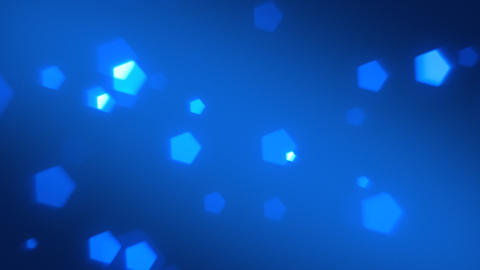 Blue Bokeh Background Animation