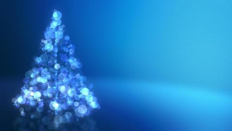 Glowing Christmas Tree Loopable Animation