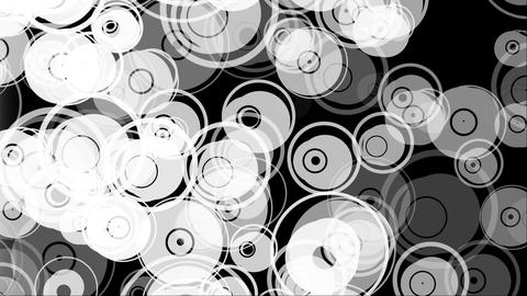 Orange Circles Transition Wipe Animation
