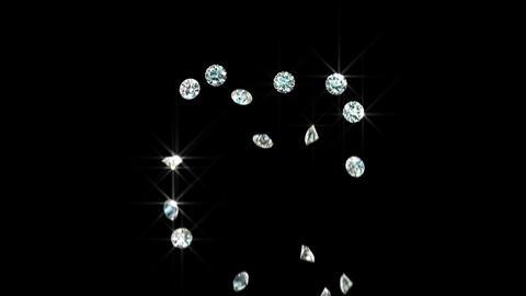Diamond Heart with Matte Animation