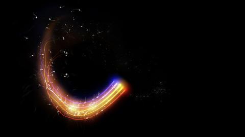 Animated Music Background Animation