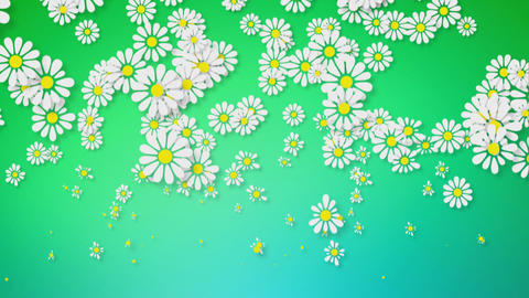 Growing Flowers Background Animation