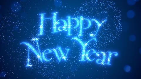 Happy New Year Background Animation