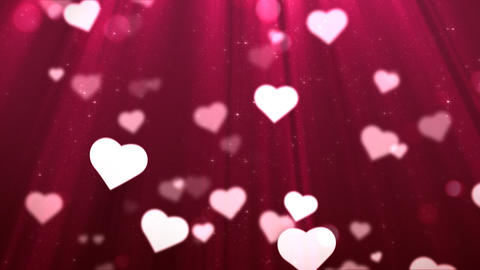 Loopable Vanentine's Day Background Animation