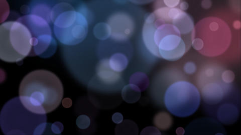 Glowing Bokeh Background Animation