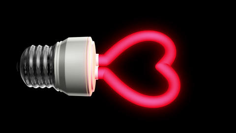 Compact Fluorescent Lightbulb Animation